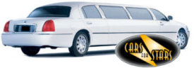 Limo Hire Oxford - Cars for Stars (Oxford) offering white, silver, black and vanilla white limos for hire